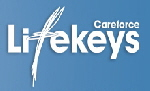 a Careforce Lifekeys Logo